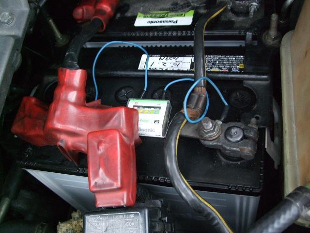 "4M40-2型はバッテリーが""命""!エンジンの不調を電気が全て解決?"